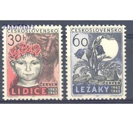 Znaczek Czechosłowacja 1962 Mi 1346-1347 Czyste **