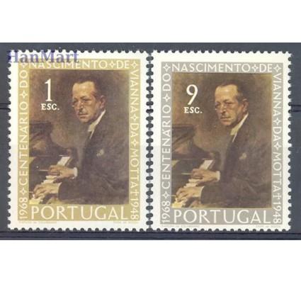 Znaczek Portugalia 1969 Mi 1082-1083 Czyste **