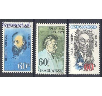 Znaczek Czechosłowacja 1974 Mi 2180-2182 Czyste **