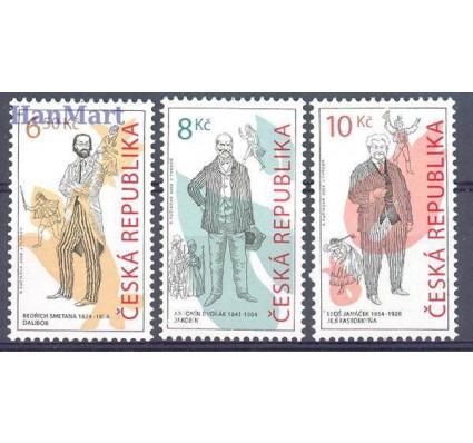 Znaczek Czechy 2004 Mi 396-398 Czyste **