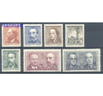 Znaczek Czechosłowacja 1962 Mi 1321-1327 Czyste **
