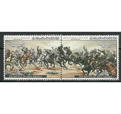 Znaczek Libia 1983 Mi 1184-1185 Czyste **