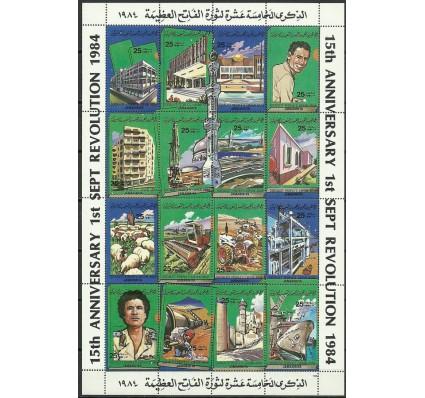 Znaczek Libia 1984 Mi ark 1389-1404 Czyste **