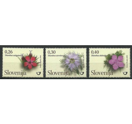 Znaczek Słowenia 2010 Mi 842-844 Czyste **