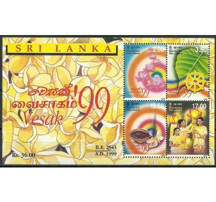 Znaczek Sri Lanka 1999 Mi bl 74 Czyste **