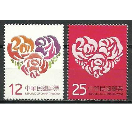 Znaczek Tajwan 2013 Mi 3774-3775 Czyste **