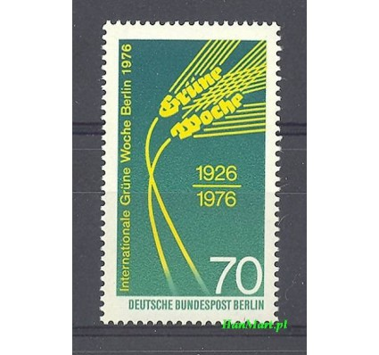 Znaczek Berlin Niemcy 1976 Mi 516 Czyste **