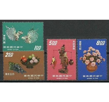 Znaczek Tajwan 1974 Mi 1008-1011 Czyste **