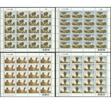 Znaczek Tajlandia 2007 Mi ark 2542-2545 Czyste **