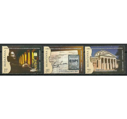 Znaczek Rumunia 2011 Mi 6556-6558 Czyste **