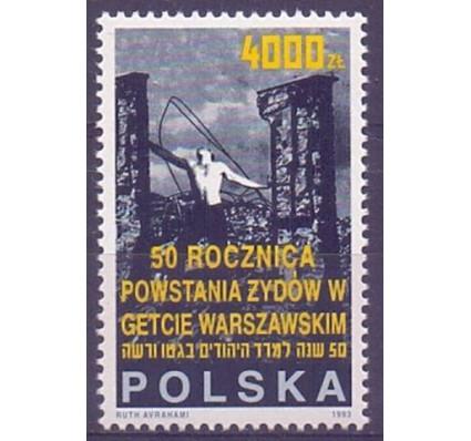 Znaczek Polska 1993 Mi 3444 Fi 3296 Czyste **