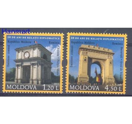 Znaczek Mołdawia 2011 Mi 769-770 Czyste **