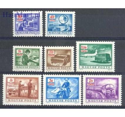 Znaczek Węgry 1973 Mi por 242-249 Czyste **