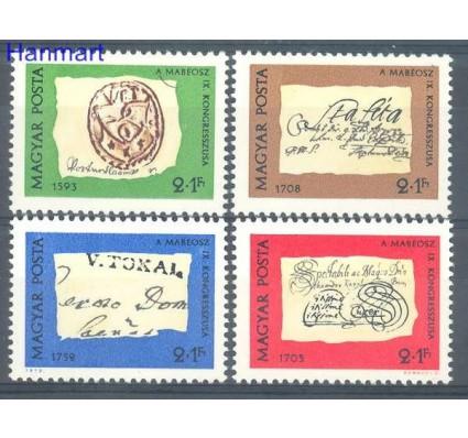 Znaczek Węgry 1972 Mi 2764-2767 Czyste **