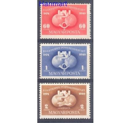 Znaczek Węgry 1949 Mi 1056-1058 Czyste **