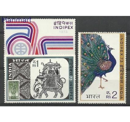 Znaczek Indie 1973 Mi 580-582 Czyste **