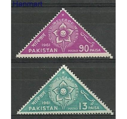 Znaczek Pakistan 1961 Mi 154-155 Czyste **