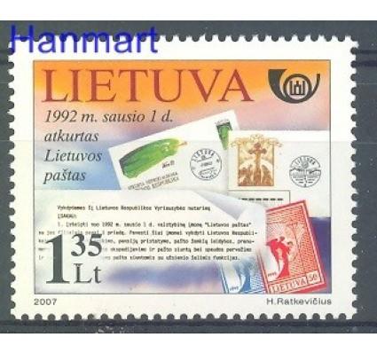 Znaczek Litwa 2007 Mi 951 Czyste **