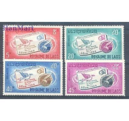 Znaczek Laos 1966 Mi 193-196 Czyste **
