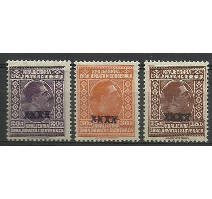 Znaczek Jugosławia 1928 Mi 219-221 Czyste **