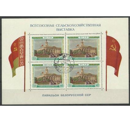 Znaczek ZSRR 1955 Mi bl 17 Stemplowane