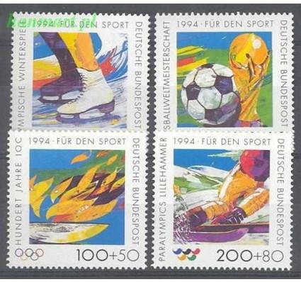 Niemcy 1994 Mi 1717-1720 Czyste **