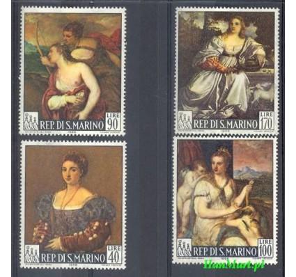 Znaczek San Marino 1966 Mi 865-868 Czyste **