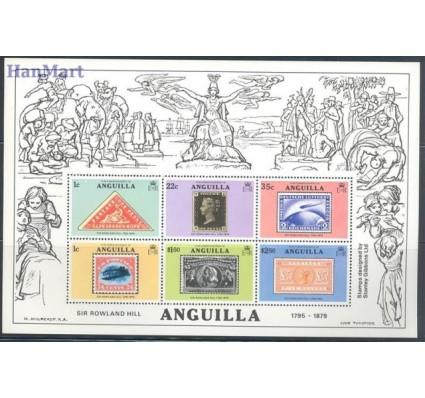 Znaczek Anguilla 1979 Mi bl 25 Czyste **