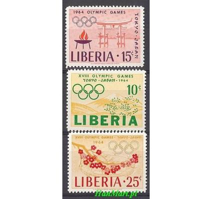 Znaczek Liberia 1964 Mi 623-625 Czyste **