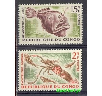 Znaczek Kongo 1964 Mi 57-58 Czyste **