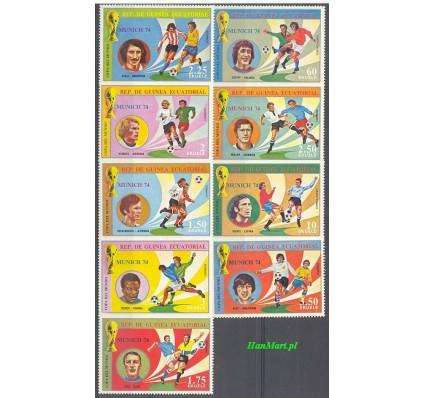 Znaczek Gwinea Równikowa 1974 Mi 371-379 Czyste **