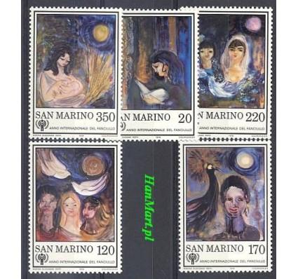 Znaczek San Marino 1979 Mi 1182-1186 Czyste **
