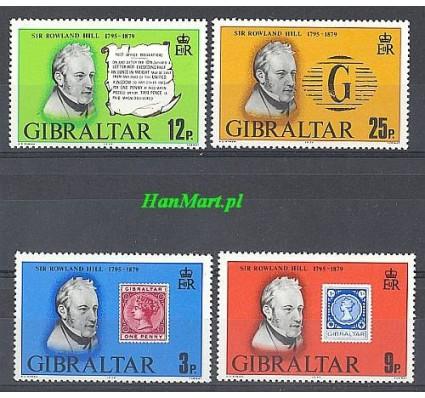 Znaczek Gibraltar 1979 Mi 387-390 Czyste **