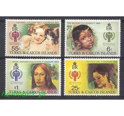 Znaczek Turks i Caicos 1979 Mi 431-434 Czyste **