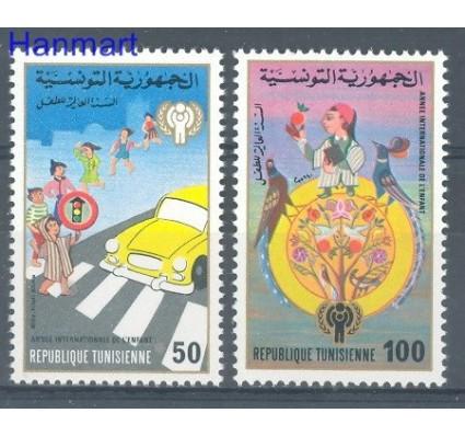 Znaczek Tunezja 1979 Mi 959-960 Czyste **