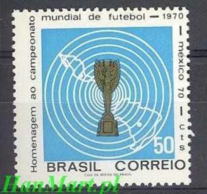 Znaczek Brazylia 1970 Mi 1260 Czyste **