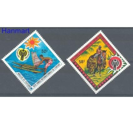 Wallis et Futuna 1979 Mi 337-338 Czyste **