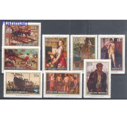 Znaczek Rwanda 1969 Mi 359-366 Czyste **