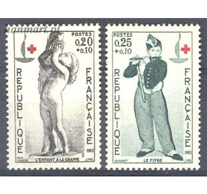 Znaczek Francja 1963 Mi 1454-1455 Czyste **