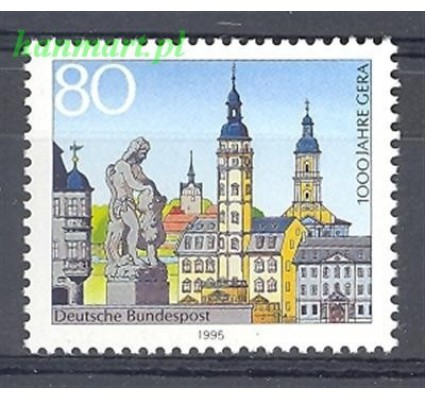 Niemcy 1995 Mi 1772 Czyste **