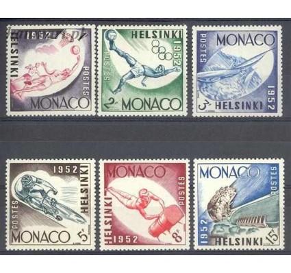 Znaczek Monako 1953 Mi 458-463 Czyste **