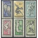 Czechosłowacja 1962 Mi 1315-1320 Czyste **