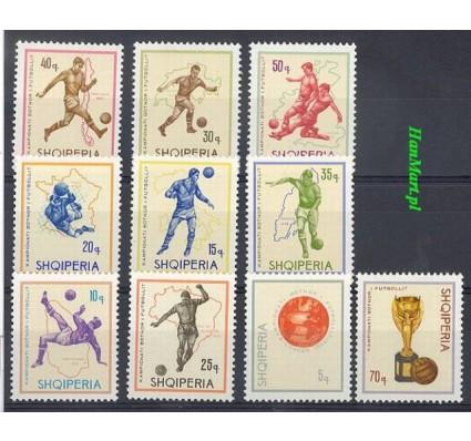 Znaczek Albania 1966 Mi 1036-1045 Czyste **
