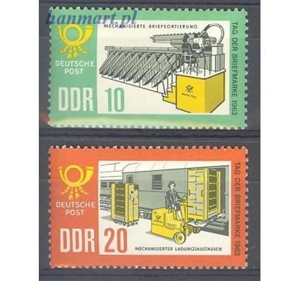 Znaczek NRD / DDR 1963 Mi 998-999 Czyste **