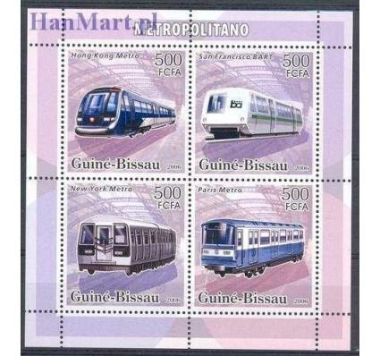 Znaczek Gwinea Bissau 2006 Mi 3370-3373 Czyste **
