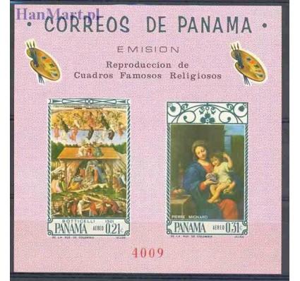 Znaczek Panama 1966 Mi bl 58 Czyste **