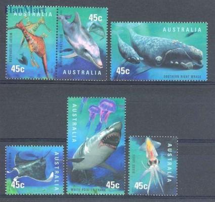 Znaczek Australia 1998 Mi 1771-1776 Czyste **