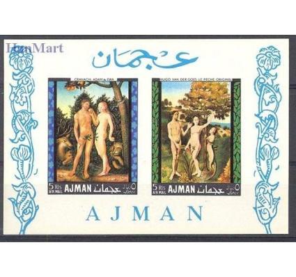 Znaczek Ajman / Adżman 1968 Mi bl 41 Czyste **