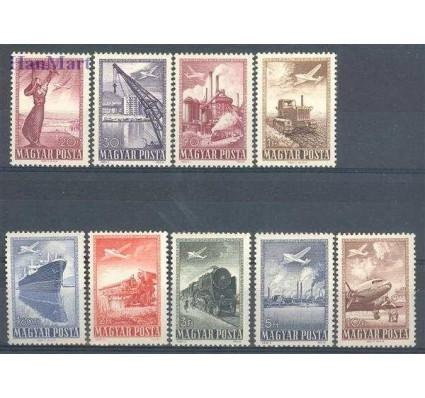Znaczek Węgry 1950 Mi 1120-1128 Z podlepką *