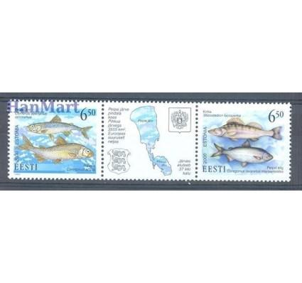 Znaczek Estonia 2000 Mi 384-385 Czyste **